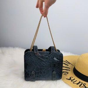 Genuine Rosenfeld 40s Vintage Turtle Leather Bag